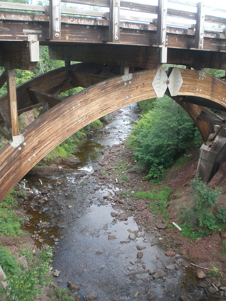 Eagle River bridge