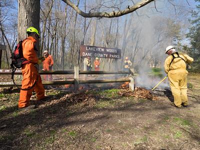 2017.Lake View County Park Burn