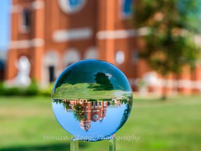 Crystal Ball Refraction, Leesburg VA 2019