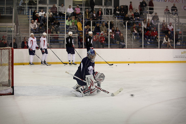 Caps Practice at Kettler, 2010 1st round