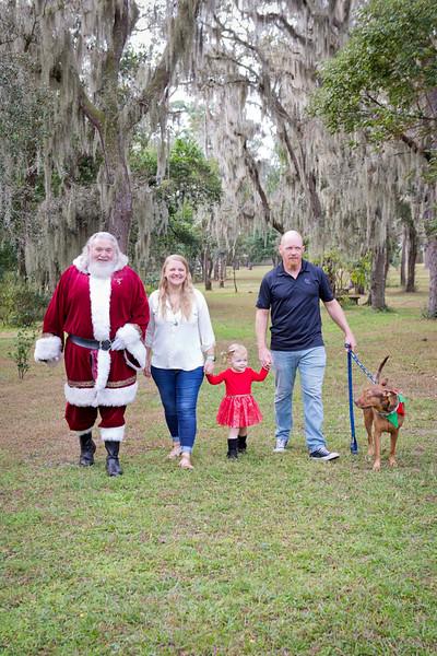 Santa Minis 2018: Saige and Family!