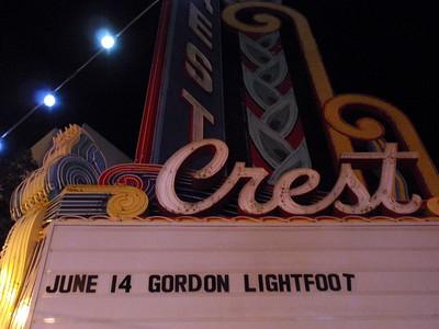 Gordon Lightfoot at the Crest Theatre Sacramento 06 14 17