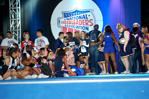Special Forces 1st Cheerleading Competition
