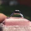 1.19ct Vintage Emerald Cut Diamond Onyx Ring, GIA E VS2 2