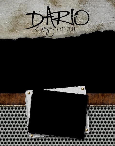 Scrap Metal - Full Page Template #2