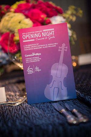 2015-16 Houston Symphony Opening Night Concert and Gala