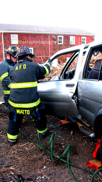 Training Day: Extrication Drill 4/18/17