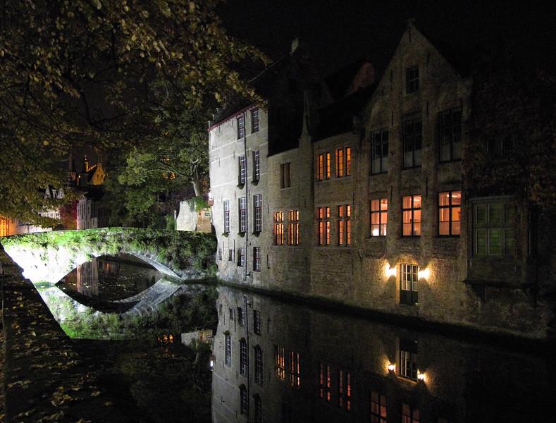 Canal - Brugge, Belgium - November 1, 2010