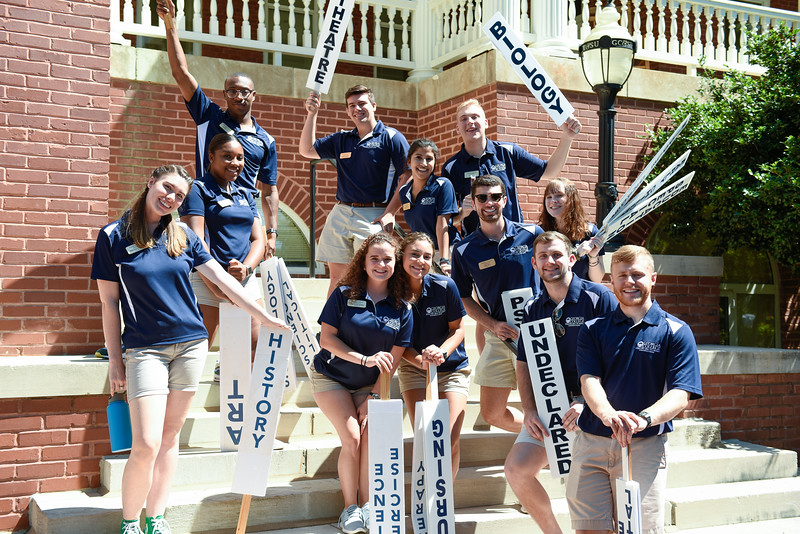 Orientation Leaders welcomed the Class of 2023 at Freshmen Orientation.