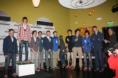 Awards Banquet:  March 6, 2012