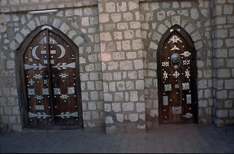 Timbuktu doorways