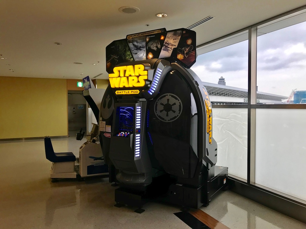 The Star Wars Battle Pod.