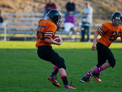 Montesano JH vs. Hoquiam JH, 8th grade, October 18, 2013