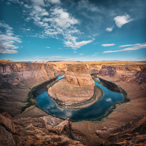 Morning at Horseshoe Bend (Arizona)