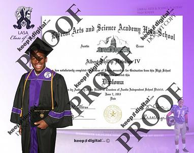 2013 LBJ_LASA Keedjit Diploma™ Proof Photos