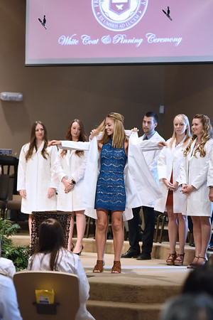 AZ Center Pinning and Long White Coat Ceremony