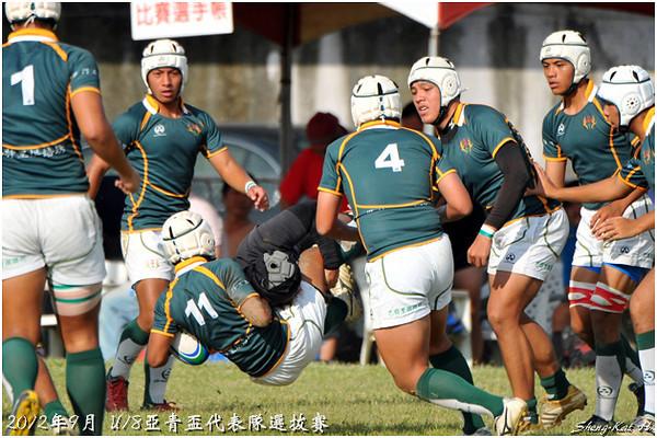 2012 U18亞青選拔-預賽-建國中學 VS 六龜中學(CKHS vs LGSH)