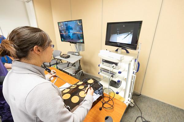 WesternU College of Veterinary Medicine laparoscopy training course