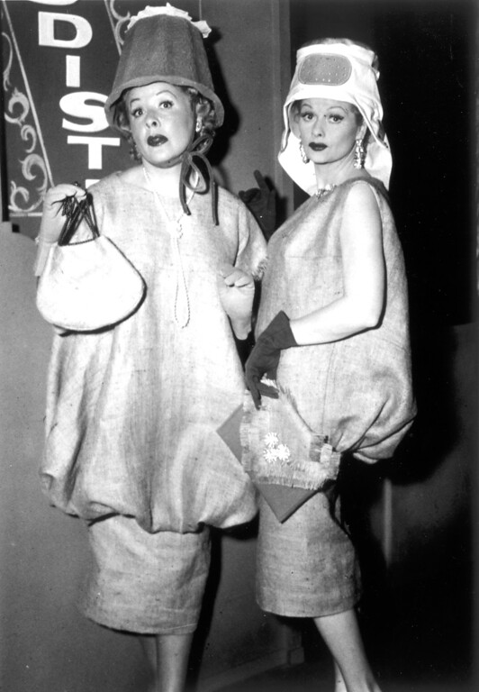 ". ""I Love Lucy\"" starring Lucy Ricardo\'s greatest fashion statements.   Los Angeles Daily News file photo"