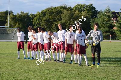 Ballard vs CAL Boys Soccer Varsity