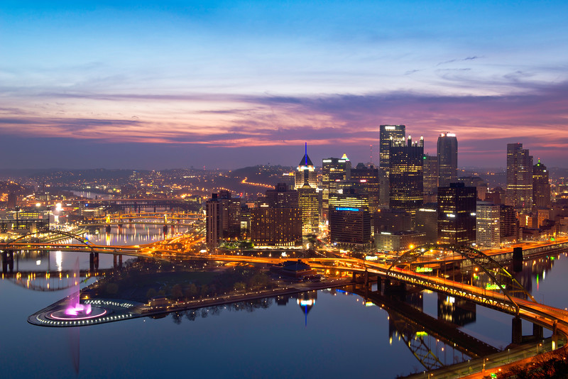 """Reemergence"" - Pittsburgh, Mount Washington   Recommended Print sizes*:  4x6  