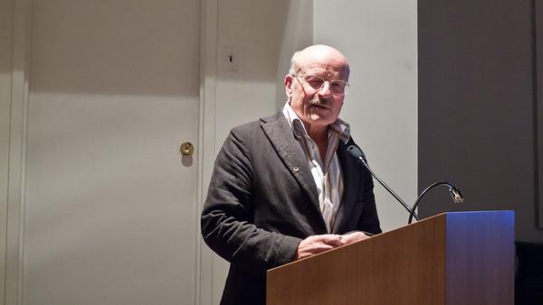 Volker Schloendorff at Deutsches Haus at NYU 2010