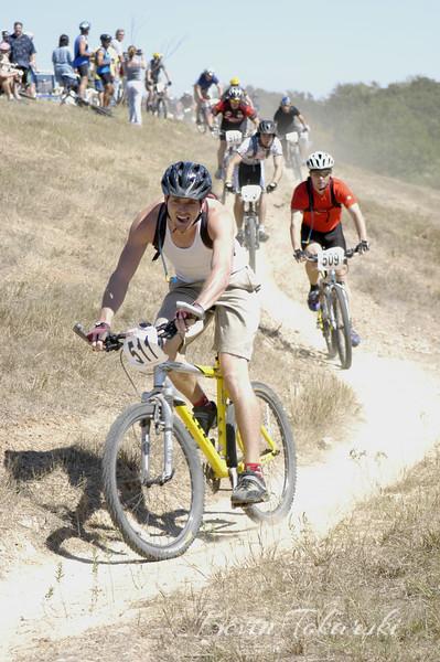 Power Pedal Mountain Bike Race, October 9, 2005, Bryan, Texas - Beginners