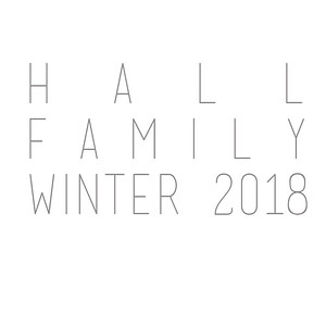 Hall Family Winter 2018