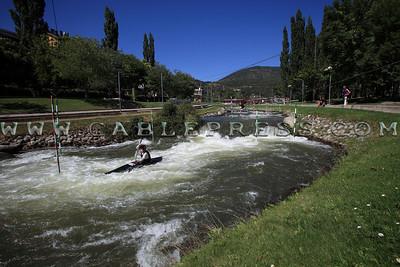 366 kaiak canal olimpico la Seu d'Urgell