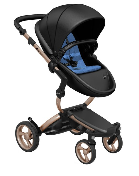 Mima_Xari_Product_Shot_Black_Flair_Rose_Gold_Chassis_Denim_Blue_Seat_Pod.jpg