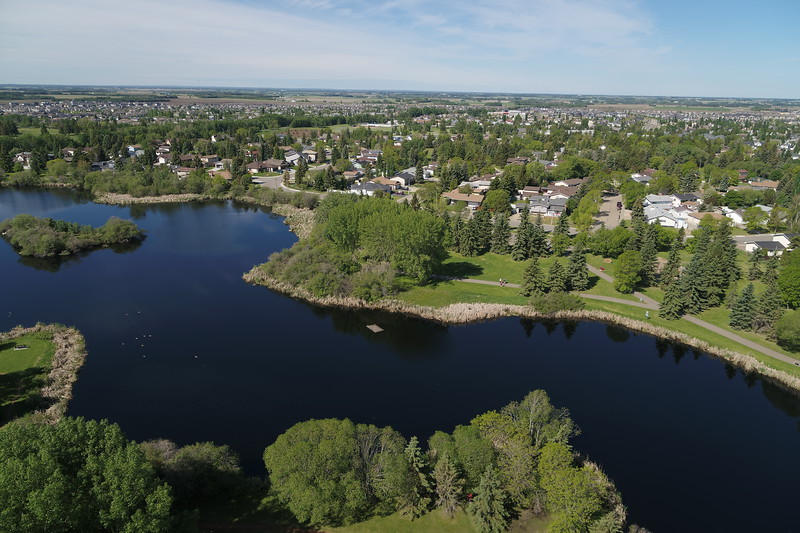 Fred Johns Park - Aerial Photography