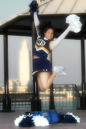 HFS CHEERLEADERS 2007