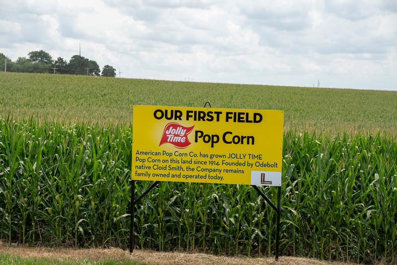 Odebolt Jolly Time Popcorn Field
