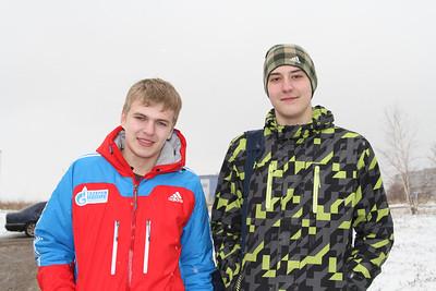 Евгений Кобяков и Максим Дубовик