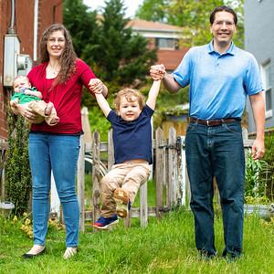 Erin & John's Front Porch Portraits