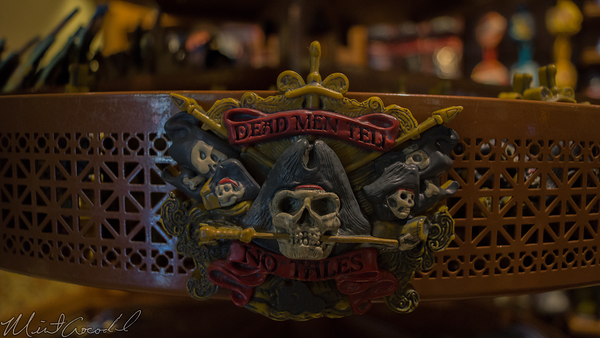 Disneyland Resort, Disney California Adventure, Pirates, Caribbean, Magnet