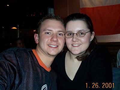 Dave's Birthday at Bennigan's - January 26, 2001