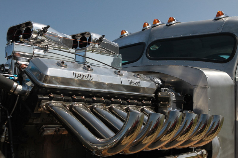 Yeah, they have a little power in these monster hot rods.