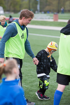 4/22/17 Disabled Soccer Camp
