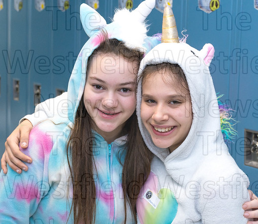 Pajama Day at NMS Feb. 16, 2018
