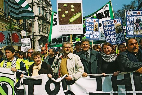 Stop the War Demo 12th April 2003 London