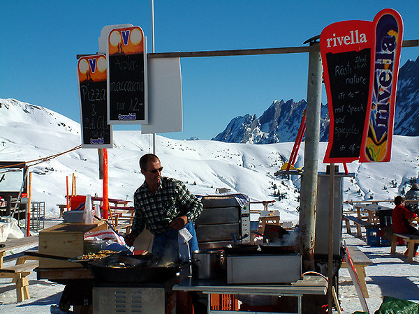 Grindelwald First - Outdoor chef
