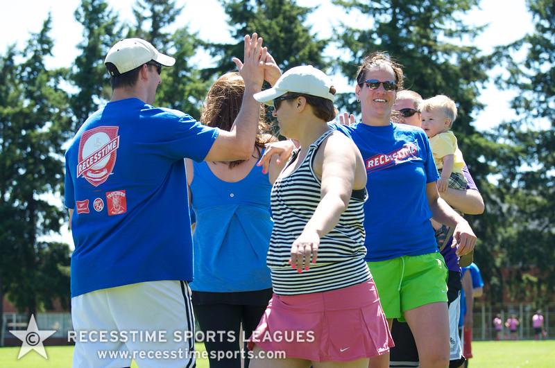 Recesstime Sports Leagues Portland Kickball Spring 2013 Dodgeball Bowling Ping Pong Mushball - 032