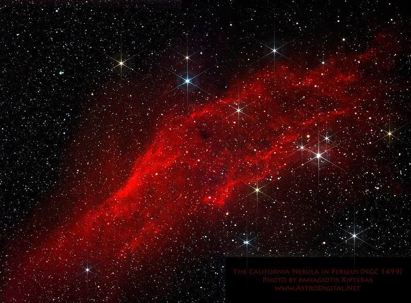 The California Nebula in Perseus – Version 2