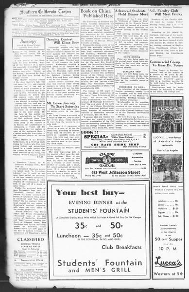 Southern California Trojan, Vol. 12, No. 5, July 05, 1933