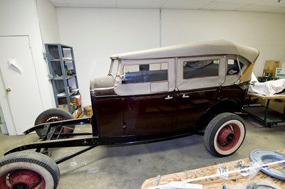 Lewis's restoration of Arvil Youngbloods Roadster