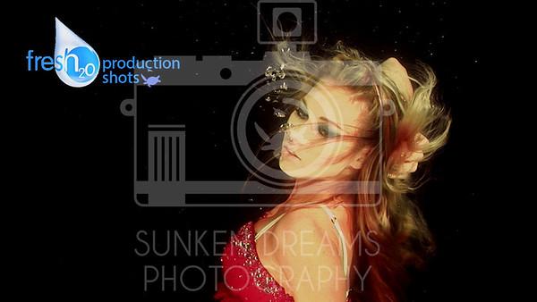 Fresh 2O - Underwater Portraiture - Production Shots