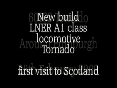 60163 Tornado around Edinburgh  28th February 2009