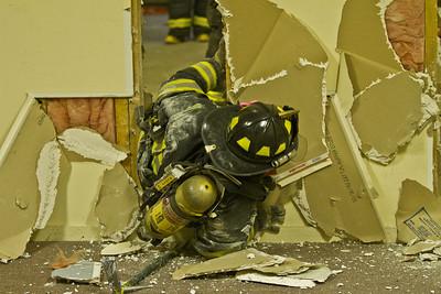 6-18-13 Wall Breach Drill, Garrison Station 1