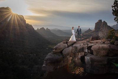 Alan & Emily's Sedona Wedding